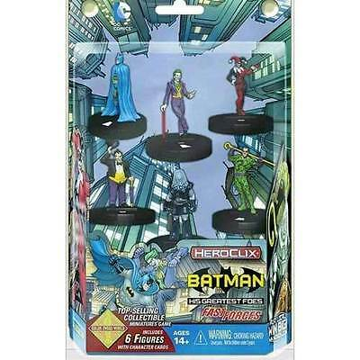 Heroclix - Batman and his Greatest Foes Fast Forces 6-Pack NEW Wizkids Games