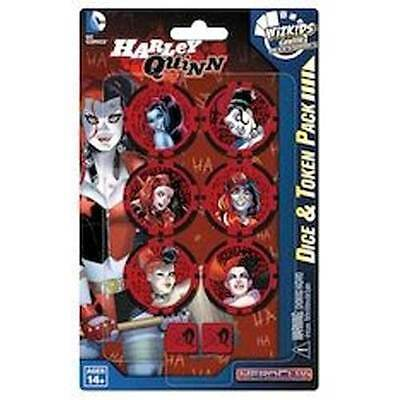 Heroclix - Batman and his Greatest Foes - Harley Quinn Dice & Token Pack NEW