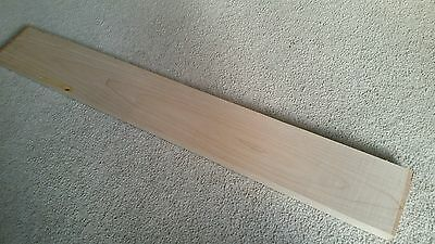 Maple Guitar Neck Blank, 30x4x1,Guitar Building
