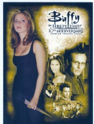 Buffy 10Th Anniversary Promo Trading Card P-K Excellent Condition