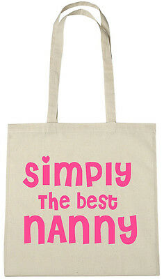 Best Nanny Ever Bag Gift Ideas Christmas Birthday Gifts Presents From Grandkids 4 99 Picclick Uk