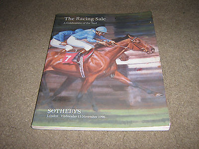 Sotheby's Auction Program-1996-The Racing Sale
