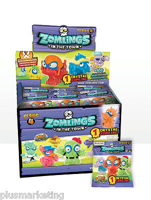 New Wholesale Box of Zomlings in the Town Packs PACKETS Series 4 Toys Figures