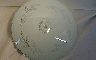 Vintage 50s Mid Century Modern Ceiling  Light Fixture Glass Shade Cover
