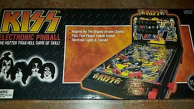 BRAND NEW  KISS hotter than hell  electronic pinball machine