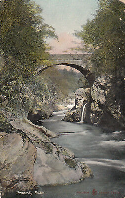 Gannochy Bridge. posted 1908