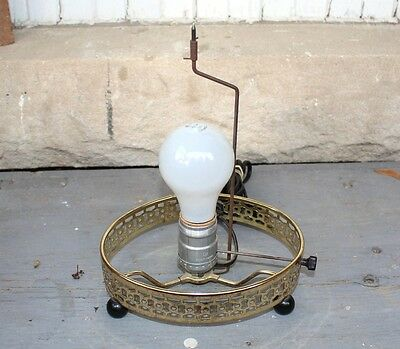 Vintage ECONOLITE Oval Motion Lamp Base (only -no shade or motion tube)