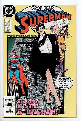 Superman #11 - The Name Game (DC, 1987) - FN/VF