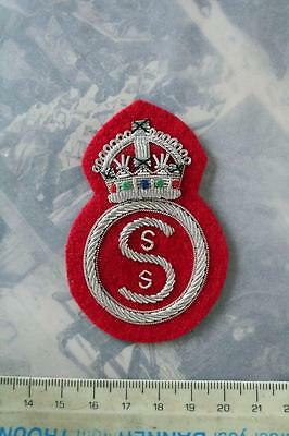 Ww1 British Army Sss Special Service Section Sleeve Badge Cloth Patch Insignia