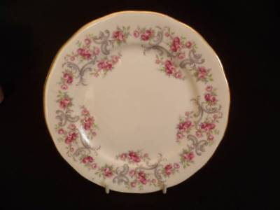 Royal Osborne Small Pink Roses 16cm Tea Plates