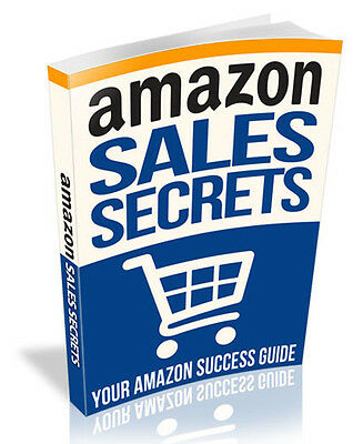 Amazon Sales Secrets eBook-PDF Master Resell Rights
