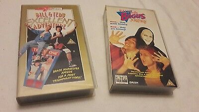 Bill And Ted's Excellent Adventure and Bogus Journey vhs