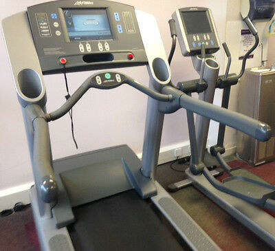 Life Fitness 97TE Treadmill Commercial Gym Equipment