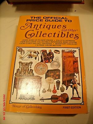 The Official Price Guide To Antiques And Other Collecting 1979