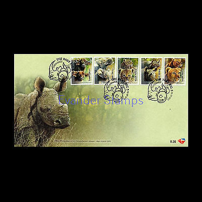 South Africa 2012  The Baby Big Five FDC