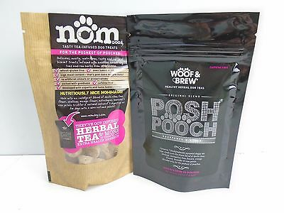 WOOF & BREW Christmas Tea and Biscuits Set for Posh of Pooch Dog Puppy Gift
