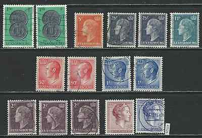 #7526 LUXEMBOURG Clearance Lot Used