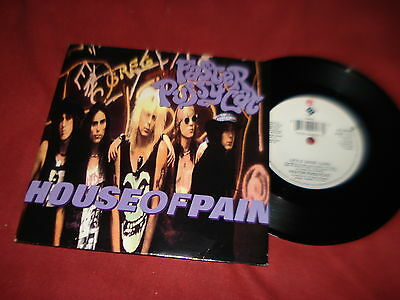 """FASTER PUSSYCAT House of pain 7"""" METAL ROCK"""