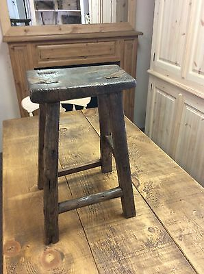 antique hungarian stool Milking Stool Vintage Rustic European Collectable • £49.99