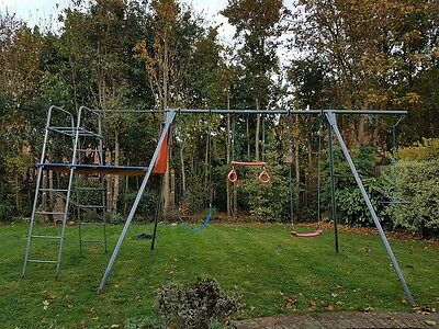 TP Swing and Climbing Frame with accessories