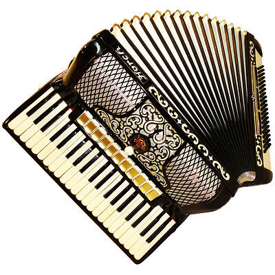 Horch Deluxe, 120 Bass, 14 Registers, German Piano Accordion, 405