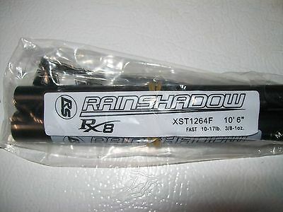 "RAINSHADOW RX8 XST1264F-TC salmon/steelhead 10'6"" 10-17 lb. for rod building"