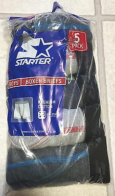 New Starter Boxer Briefs Boys Size Large 14/16 5 Pack 14 / 16