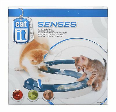 Catit Design Senses Play Circuit Cat Fun Exercise Activity Toy