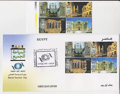 Egypt Ägypten, 2016 Tourism for everybody, Stamps + FDC