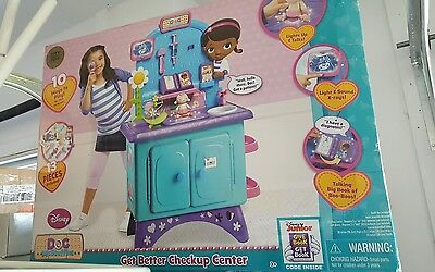 New Doc Mcstuffins Get Better Checkup Center playset toy