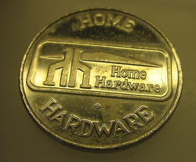 Vintage Home Hardware Dollar Token Coin - Canada