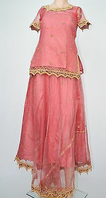 3 Pc Sharara Dress  UK Size 8 For a Young Girl Attractive Quality Material....