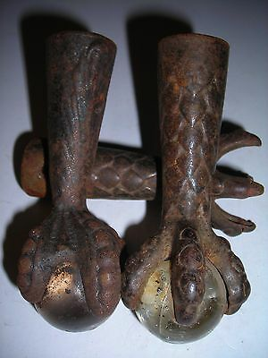 Antique iron feet # 2