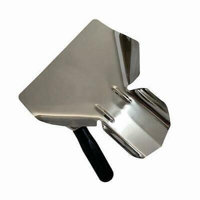 French Fry / Chip Bagging Scoop / Shovel, Left Hand, Stainless Steel, Cafe
