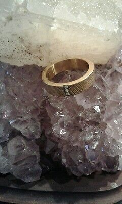 Beautiful Gold Color Ring with  Elder Djinn