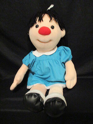 """Big Comfy Couch Molly Doll Plush Huge Size 27""""  1997 Commonwealth"""