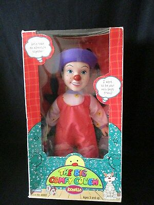 1997 Big Comfy Couch Loonette Doll With Brushable Hair in Box Playmates