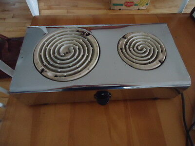 Hot Plate 2 Burner Electric Stove  COUNTER TOP