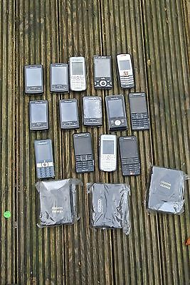 JOB LOT MOBILE PHONES SOME WORKING - UNTESTED (14 Sony Ericsson)xperia mini .007