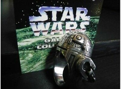 Rogue One J.A.P. Inc. STAR WARS R2 - D2 Silver ring 925 BWL 30 g From Japan