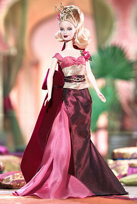 2004 Exotic Intrigue Barbie Doll Blonde Collector Edition COA NRFB