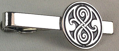 Seal of Gallifrey - Doctor Who Science Fiction TV Series Logo - Tie Clip Clasp