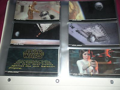 Star Wars New Hope 3Di Widevision 1-63 Base Card Set 3D Topps 1996 Nm Rare!!!!!!