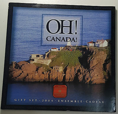 2004 OH! Canada 7 Coin Mint Set BU Coins