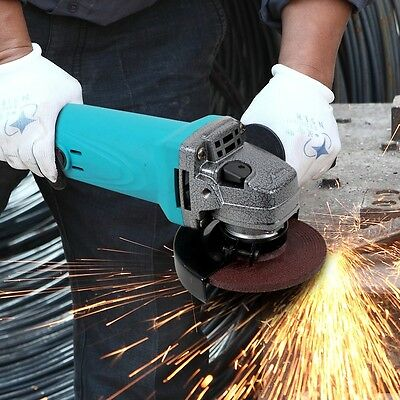 220V 900W High Power Angle Grinder Household Industrial Handle Grinding Cutting