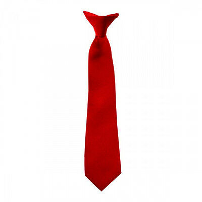Red Baby Neck Tie