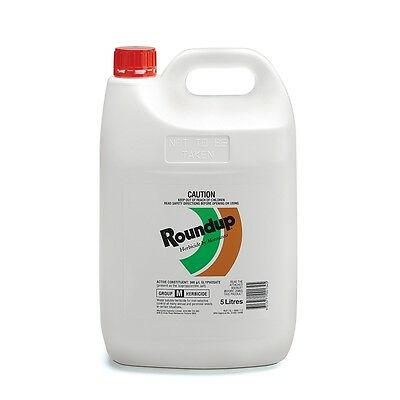Roundup 5L All Purpose Weed Killer Concentrate