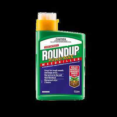 Roundup 1L PowerMAX Weedkiller Concentrate