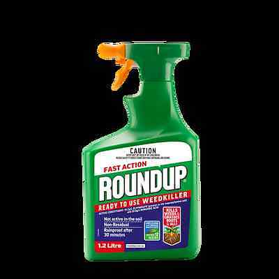 Roundup 1.2L Fast Action Ready To Use Weedkiller