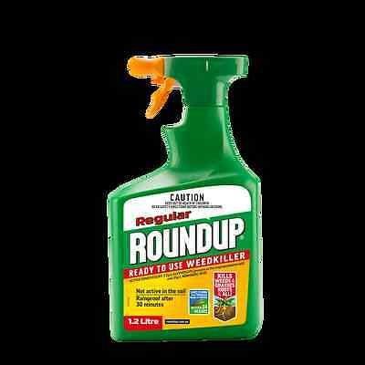 Roundup 1.2L Regular Ready To Use Weedkiller
